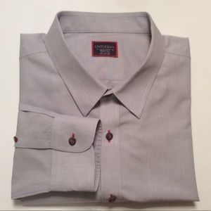 UNTUCKit solid gray casual long sleeve shirt 3X